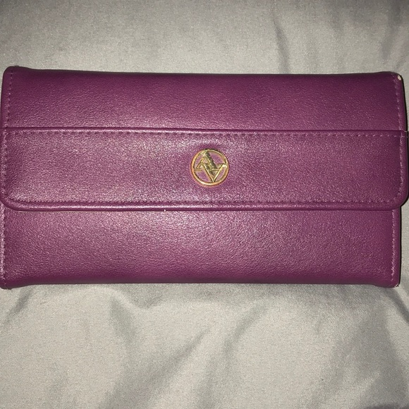 Adrienne Vittadini Handbags - Purple wallet SOLD